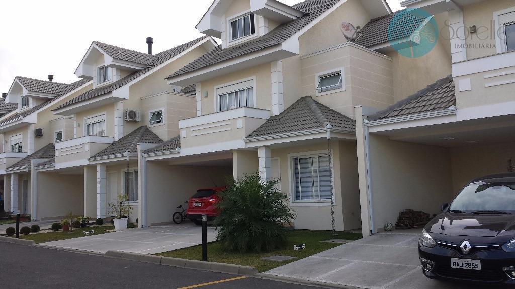 Sobrado residencial à venda, Braga, São José dos Pinhais - SO0010.