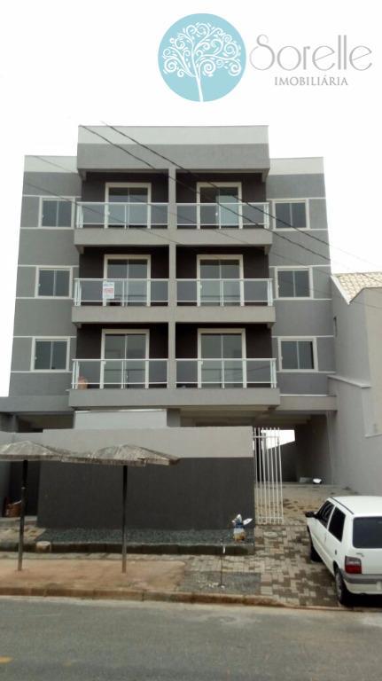 Apartamento residencial à venda, Bom Jesus, São José dos Pinhais - AP0012.