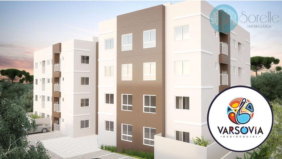 Apartamento residencial à venda, Braga, São José dos Pinhais - AP0097.