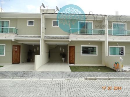 Sobrado em Condomínio Fechado à venda, Parque São José, São José dos Pinhais.