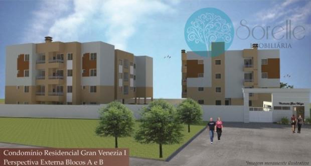 Apartamento residencial à venda, Bom Jesus, São José dos Pinhais - AP0086.