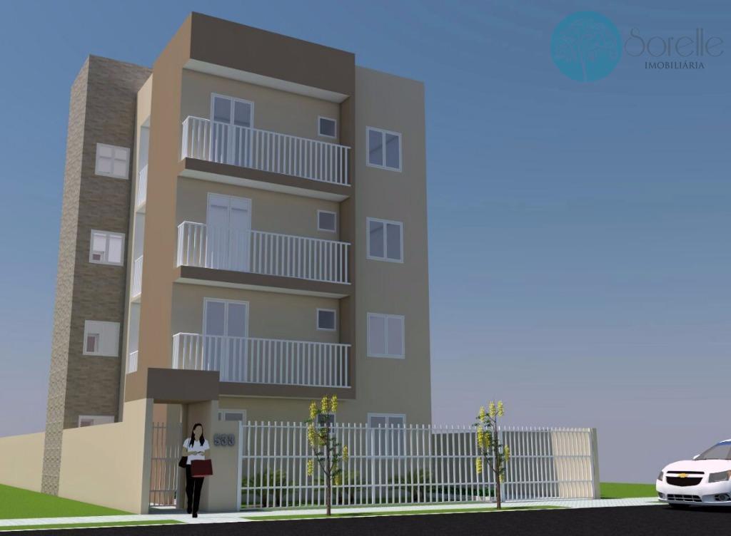 Apartamento residencial à venda, Cruzeiro, São José dos Pinhais - AP0074.