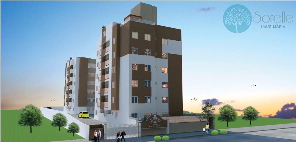 Apartamento residencial à venda, Carioca, São José dos Pinhais.