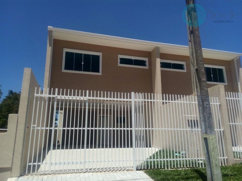 Sobrado residencial à venda, Cidade Jardim, São José dos Pinhais.