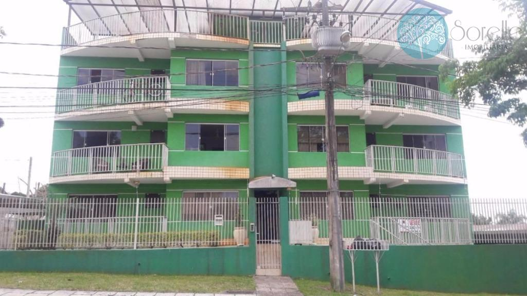Apartamento residencial à venda, Três Marias, São José dos Pinhais.