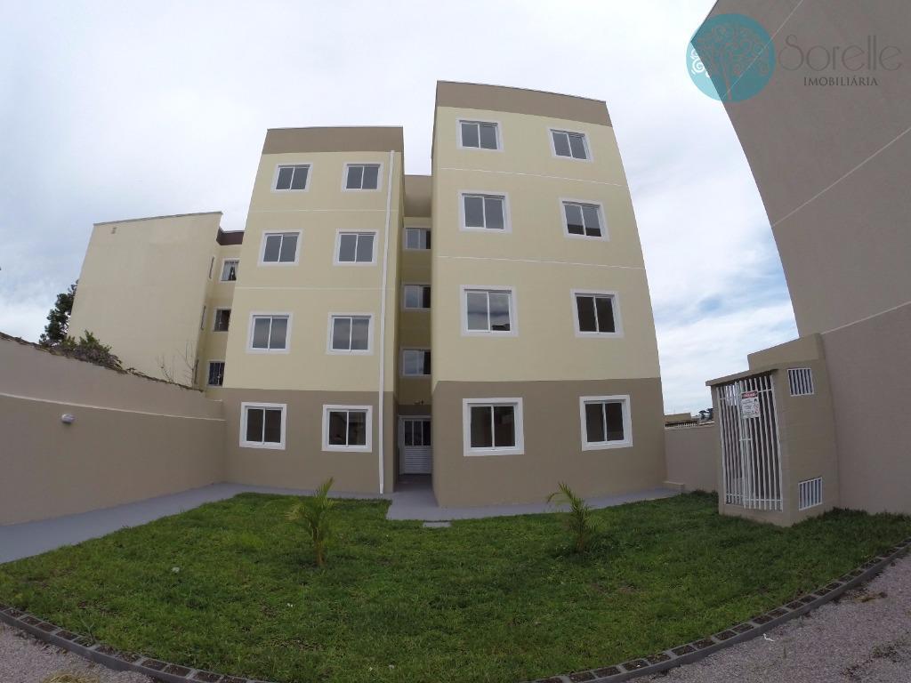 Apartamento residencial à venda, Costeira, São José dos Pinhais - AP0007.