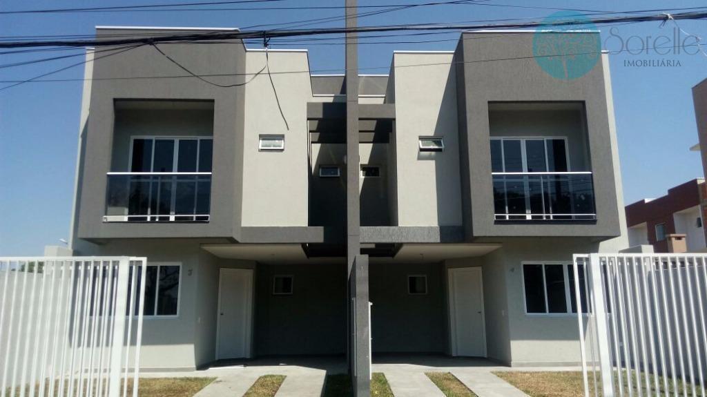 Sobrado residencial à venda, Alto Boqueirão, Curitiba.