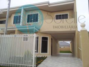 Sobrado residencial para locação, Centro, São José dos Pinhais.