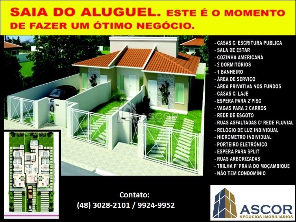 Casa 2 Dorm, Rio Vermelho, Florianópolis (CA0085) - Foto 4