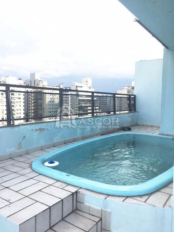 Cobertura 3 Dorm, Centro, Florianópolis (CO0131)