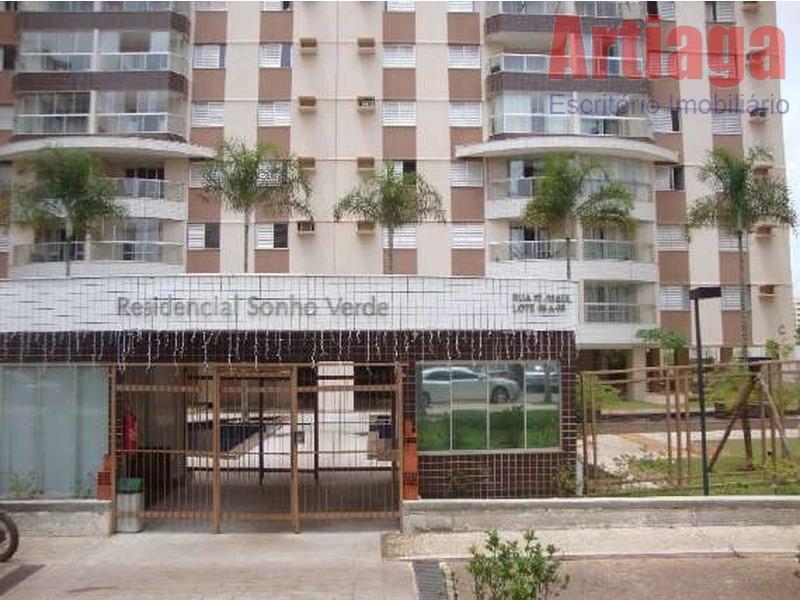 Apartamento  residencial à venda, Sul, Águas Claras.