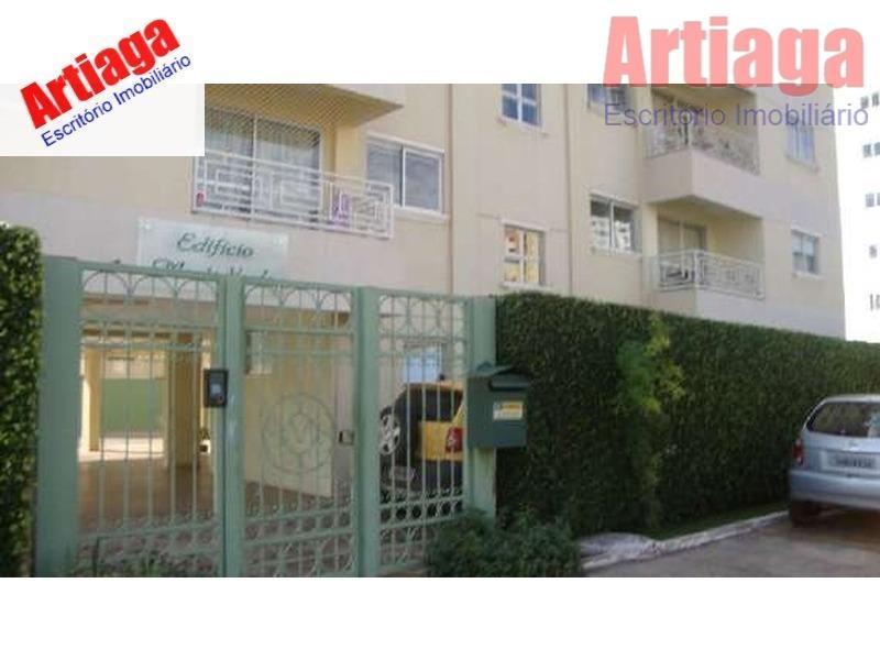 Apartamento residencial à venda, Norte,Ed.Monte Verde. Águas Claras - AP0065.