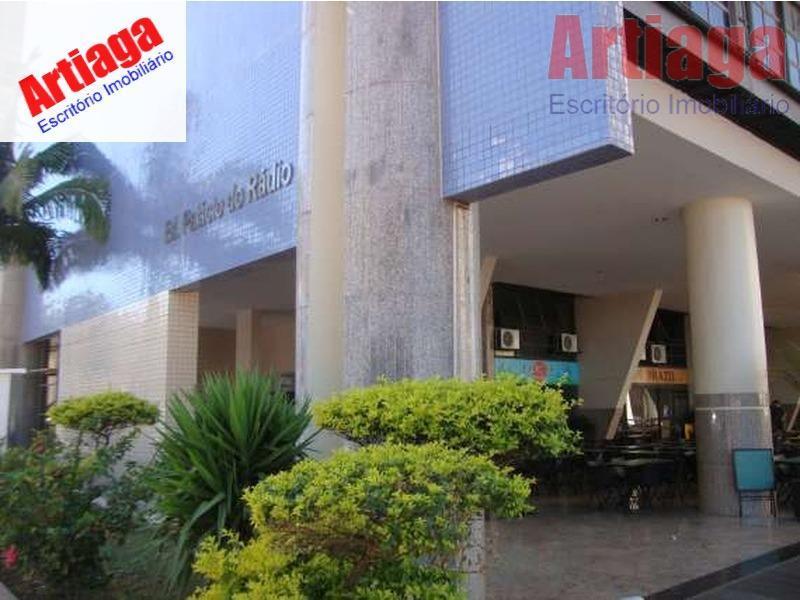 Sala comercial para locação e venda ,Ed. Palácio do Rádio II salas 113/114  Asa Sul, Brasília.