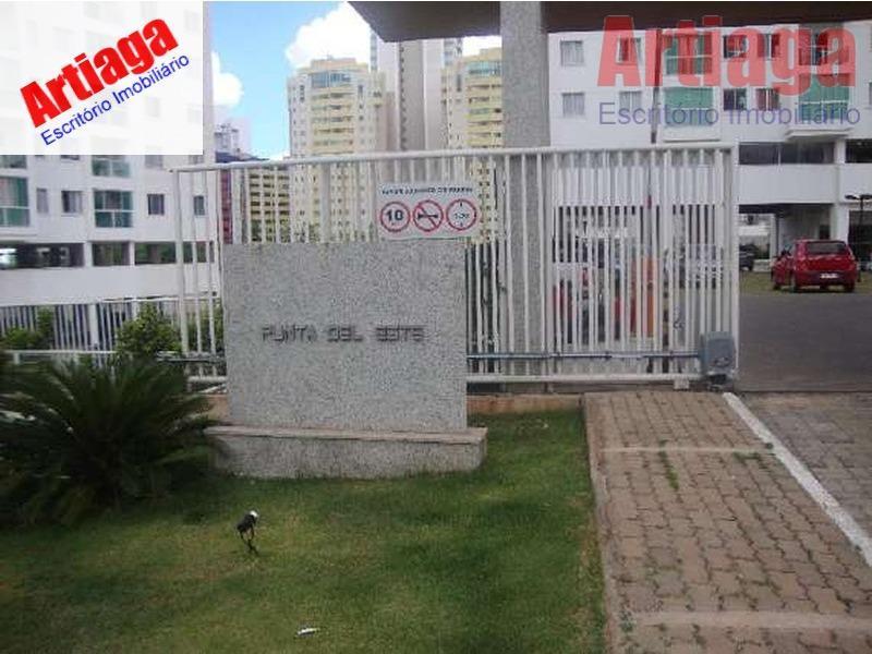 Apartamento residencial para locação,Ed.Punta Del Leste (dentro do Top Life Club) apt 603 Norte, Águas Claras.