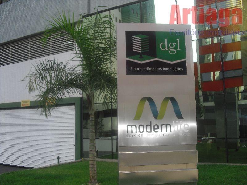 Apartamento residencial à venda,Ed.Modern Life. Águas Claras.Norte