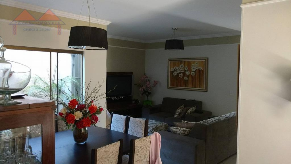 Casa residencial à venda, Jardim Terra Branca, Bauru - CA0004.