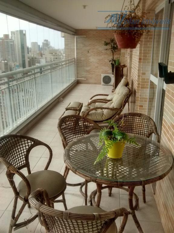 Apartamento, 3 suítes, Varanda Gourmet, 160 m², 21° andar  - Gonzaga