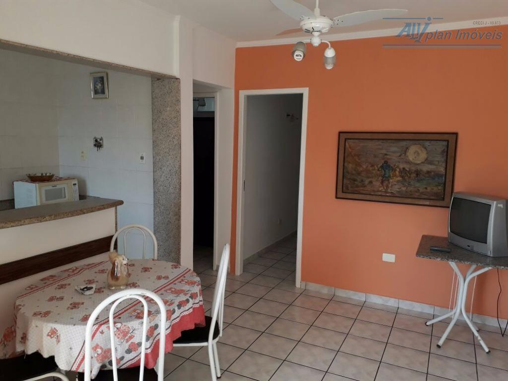 Apto 1 dorm, suíte, totalmente mobiliado, sacada, garagem, avenida da praia, no bairro do José Menino.