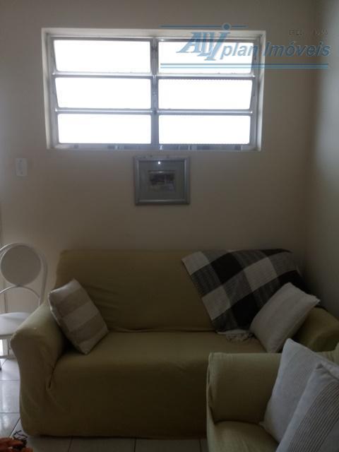 Vista do mar Pompéia 2 dormitórios 1 vaga