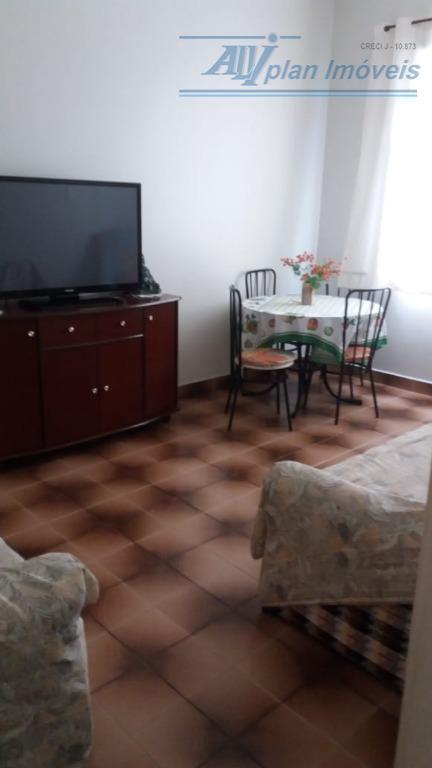 Apartamento com 1 dormitório à venda, 60 m² por R$ 280.000 - Aparecida - Santos/SP