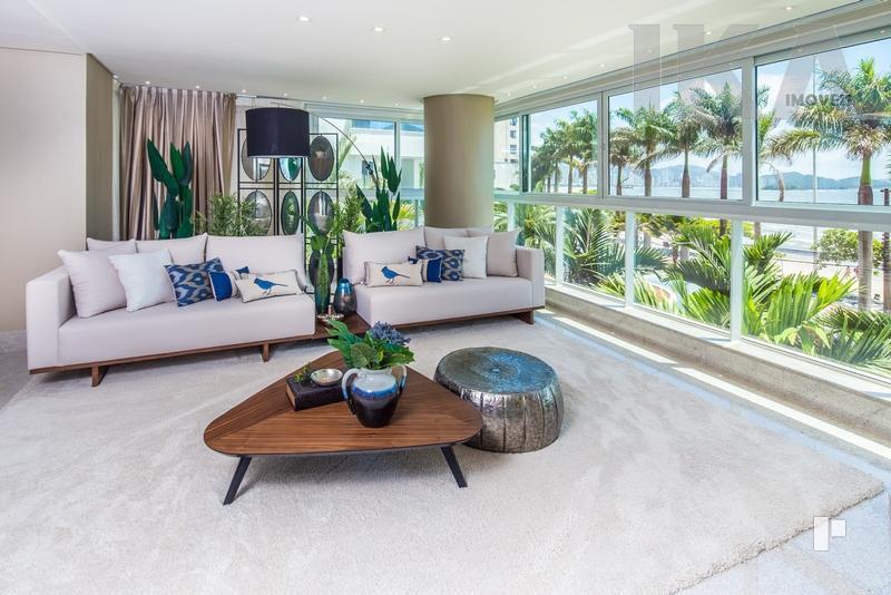 Apartamento de luxo pronto para morar frente mar Balneário Camboriú.