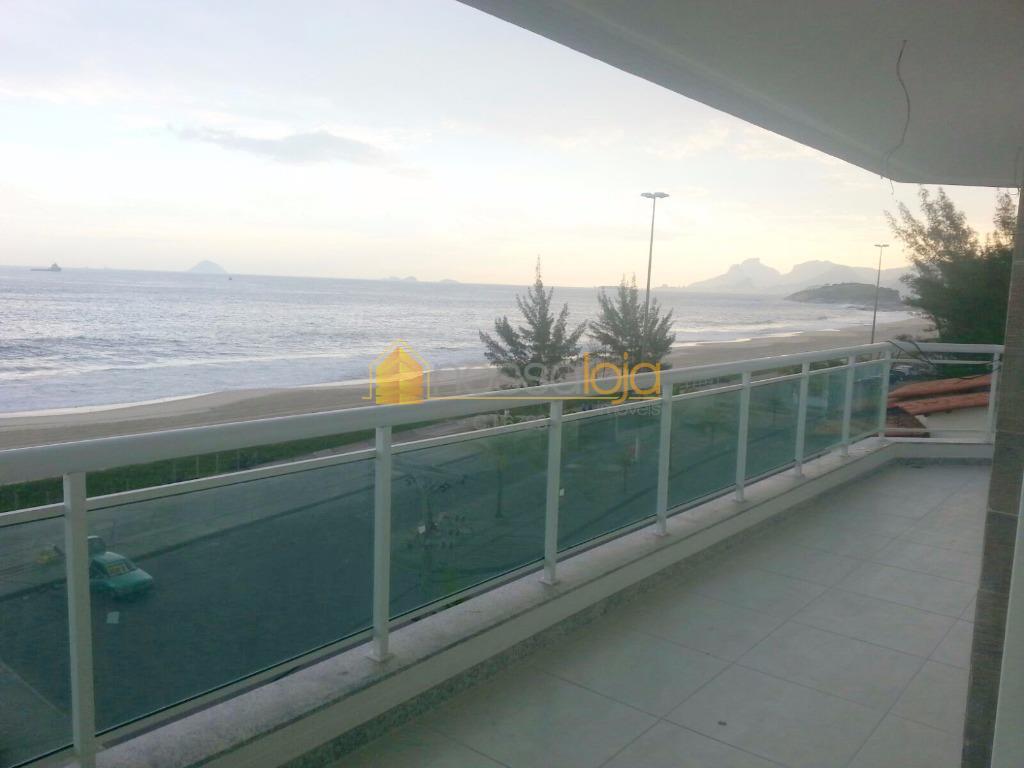 Apartamento com 4 dormitórios para alugar, 141 m² por R$ 2.900/mês - Piratininga - Niterói/RJ