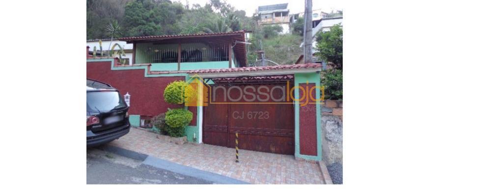 Casa residencial à venda, Cubango, Niterói.