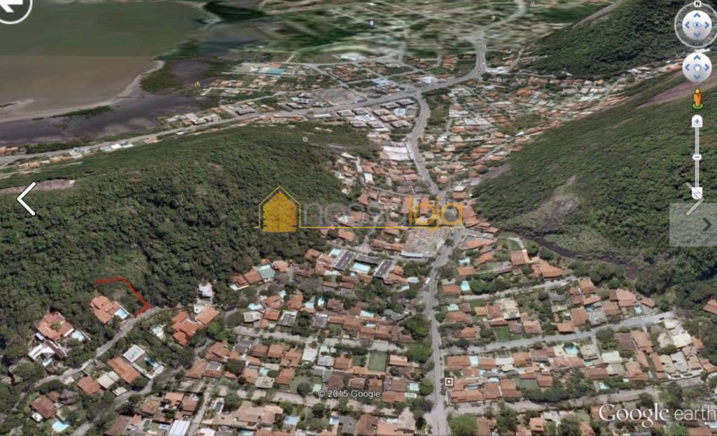 excelente lote em aclive com 804 m², devidamente registrado,em localização privilegiada de itacoatiara, com vista do...