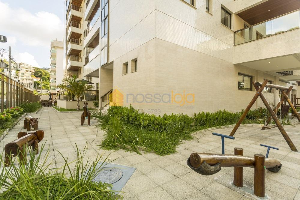 excelente apartamento de 1 locação na praia de charitas. composto por ampla varanda gourmet, lavabo, sala...