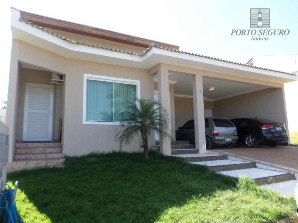 Casa residencial para locação, Condomínio Nova Carioba, Americana.
