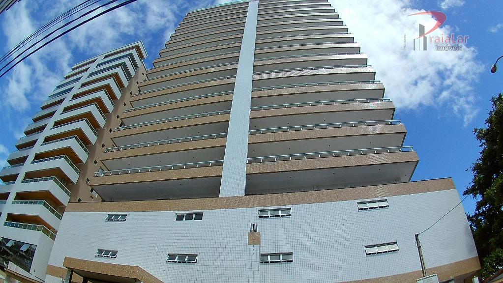 Imóvel em Praia Grande, Vila Guilhermina, Apartamento com Varanda Gourmet e Lazer Completo.