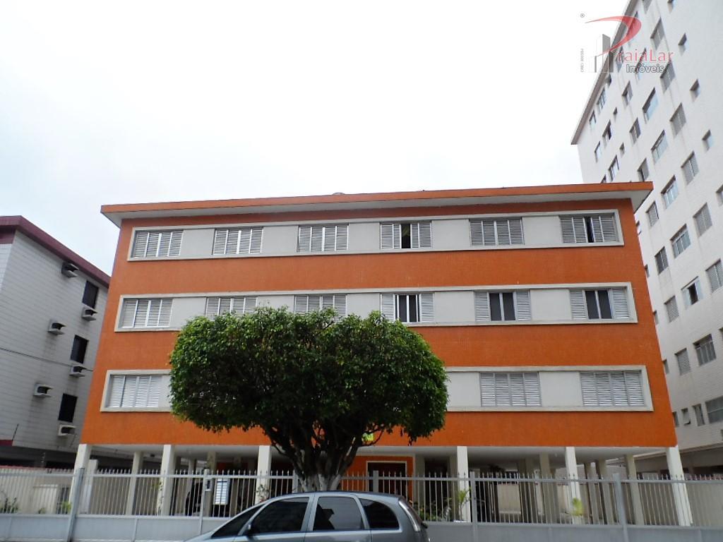 Apartamento 2 dormitórios dependência de empregada  1 vaga de garagem Boqueirão Praia Grande