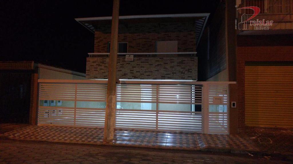 Villa di Marambaia, Casa sobreposta com varanda em condomínio fechado próximo a praia