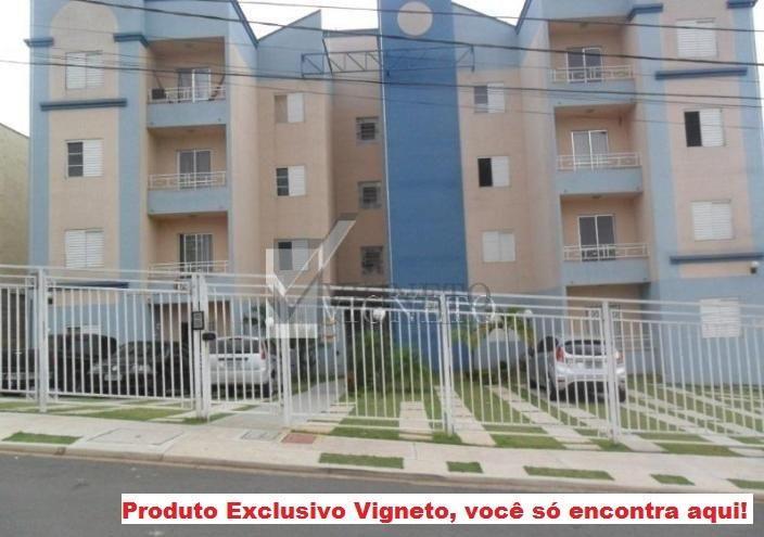 Apartamento residencial à venda, Jardim Pacaembu, Valinhos - AP0516.