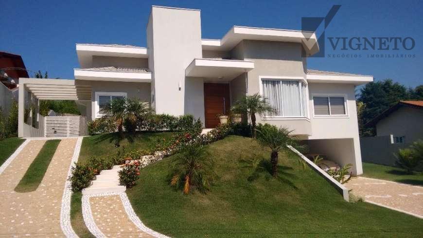 Casa residencial à venda, Condomínio Vista Alegre - Sede, Vinhedo - CA2350.