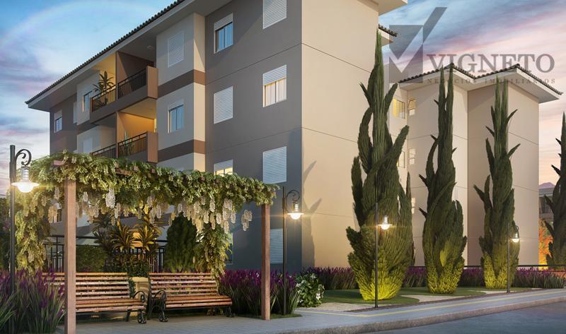 Apartamento residencial à venda, Capela, Vinhedo.