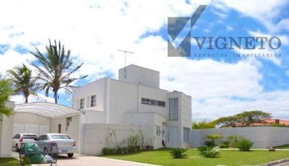 Casa Residencial à venda, Condomínio Vista Alegre - Sede, Vinhedo - CA0556.