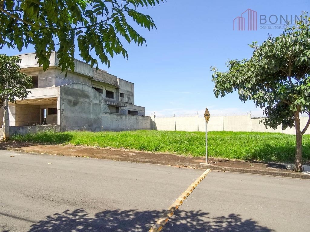 Terreno residencial à venda, Condomínio Villagio, Americana - TE0084.