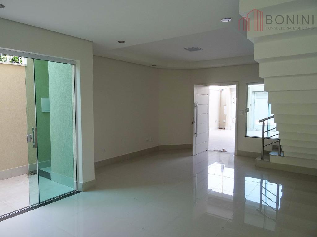 Sobrado residencial à venda, Residencial Jacyra, Americana - SO0089.