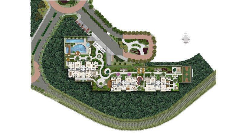 o condomínio etco faz parte do bairro planejado greenville. são 3 torres com 25 pavimentos cada...