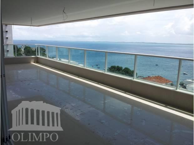 Solaire - Ladeira da Barra - 4 suítes -306 m² - Alto padrão