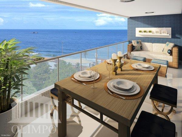 Apartamento à venda em Armação - Vista mar total - Wave