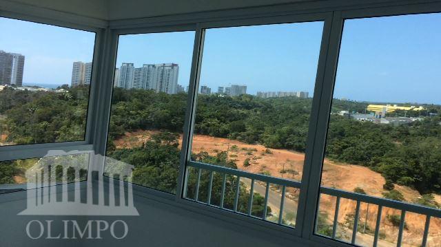Apartamento para venda e locação, Alphaville I, Salvador.