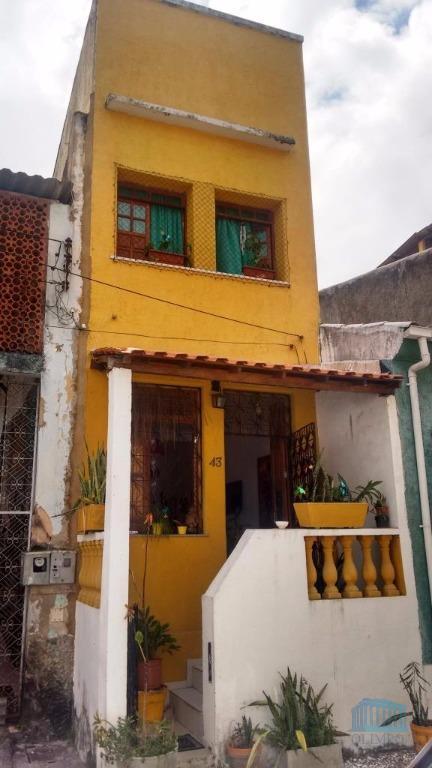 Casa residencial à venda, Santo Antônio, Salvador - CA0090.
