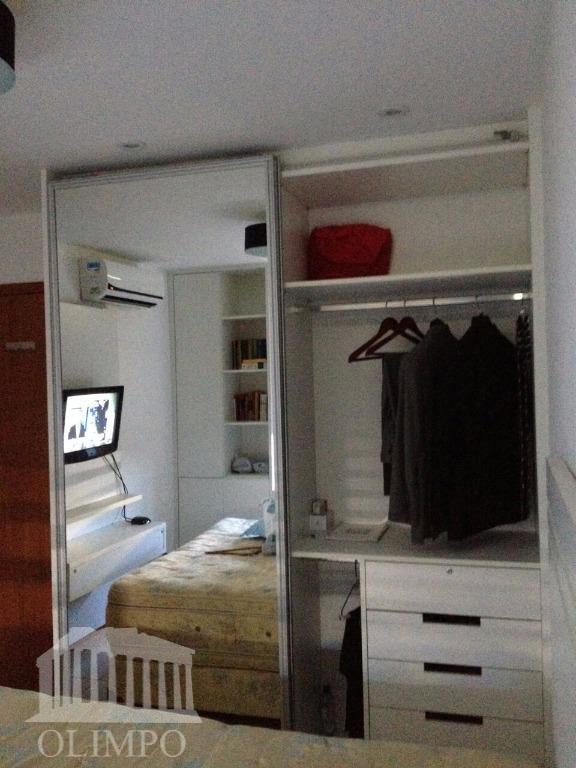 metragem:50 m²número de dormitórios:1número de banheiros:1posição do sol:norte/sulnúmero de elevadores:2vaga de garagem:1estrutura de segurança:portaria 24hestrutura de...