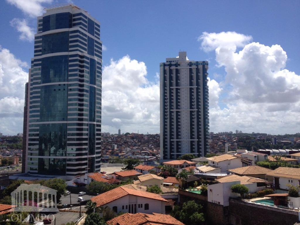 Apartamento residencial para locação, Caminho das Árvores, Salvador.