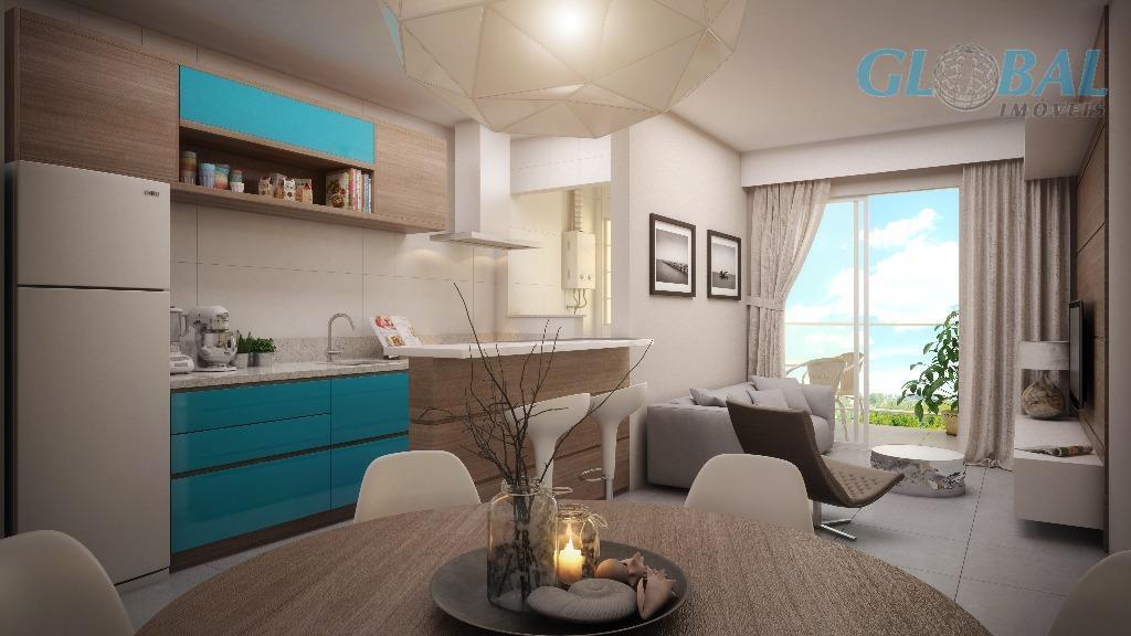 conheça o mais novo empreendimento localizado no bairro areias, são apartamentos com diferencial construtivo, plantas maiores...