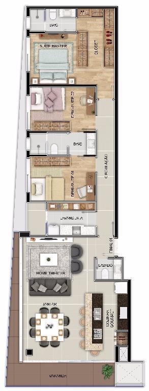 lumina residence - apartamento na vila nova, rua arthur gumz, jaraguá do sulapartamento residencial lumina jaraguá...