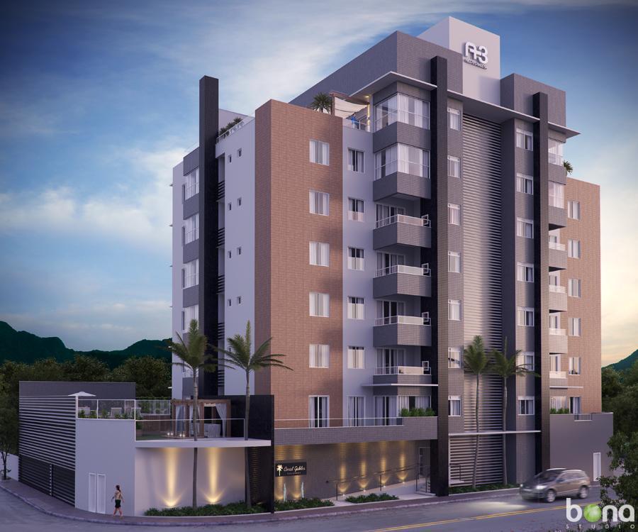 Apartamento - Coral Gables Residence -  Nova Brasília, Jaraguá do Sul