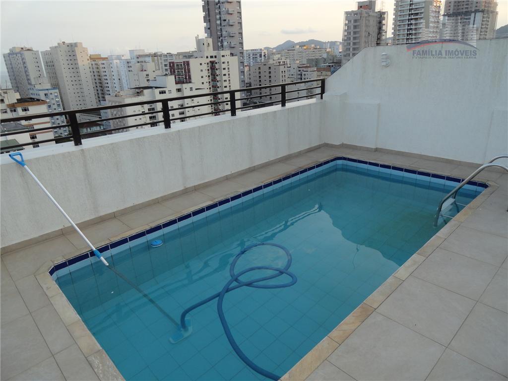 Cobertura residencial à venda, Pompéia, Santos.